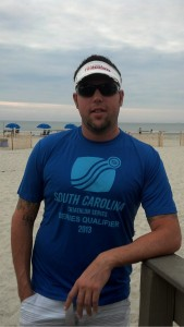 Jason looking suave after taking home a win at Hilton Head and the South Carolina Triathlon Series title.