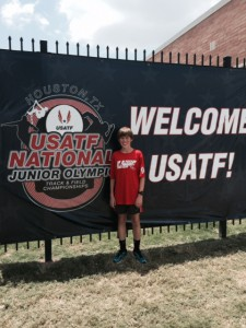Colin at USATF Nats