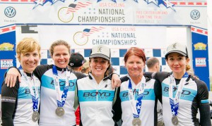 Women's 35+ Masters Nationals Team Time Trial Champions
